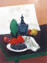 Stanton Macdonald Wright - Still Life with Fruit