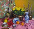 Gregory Hull - Still Life with Mums