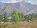 William Wendt - Meadow and Hills