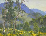 Gregory Hull - Balsamroot and Aspen