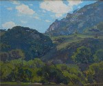 William Wendt - The House on the Hill