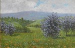 Theodore Wores - Lilacs in Los Altos, California