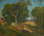 William Wendt - Ranch Amongst the Trees
