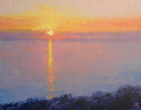 Gregory Hull - Baja St. Sunset