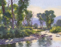Gregory Hull - River Scene
