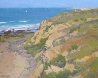 Gregory Hull - Crystal Cove Cliffs