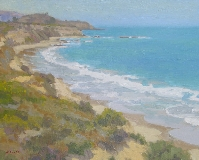 Gregory Hull - Beach Day, Crystal Cove