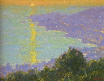 Gregory Hull - Setting Sun, Laguna