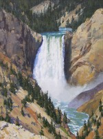 Gregory Hull - Lower Falls, Yellowstone River
